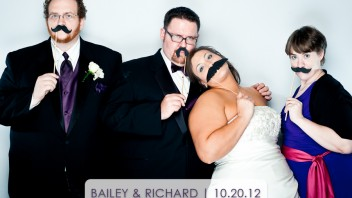 Bailey & Richard | Fuquay-Varina Wedding Photobooth
