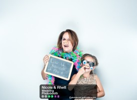 Nicole & Rhett's Charlotte Wedding Photo Booth by Jebb Graff.