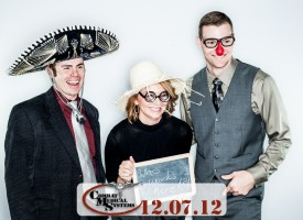 Holiday Party Photo Booth by Jebb Graff.