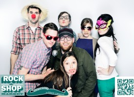Durham Photo Booth - Rock & Shop by Jebb Graff.