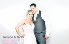 Jessica & Mark | A Cary Wedding Photobooth