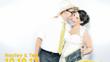 Hayley & Ted | A Pittsboro Wedding Photobooth